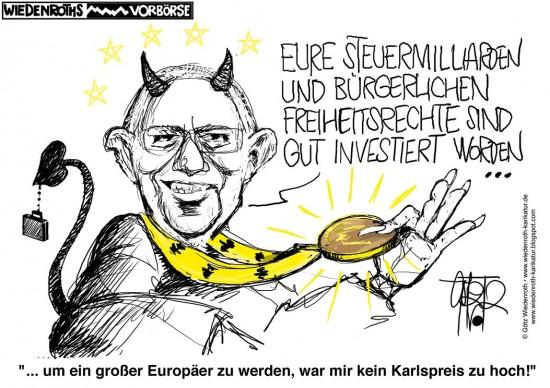 Karlspreis Schäuble