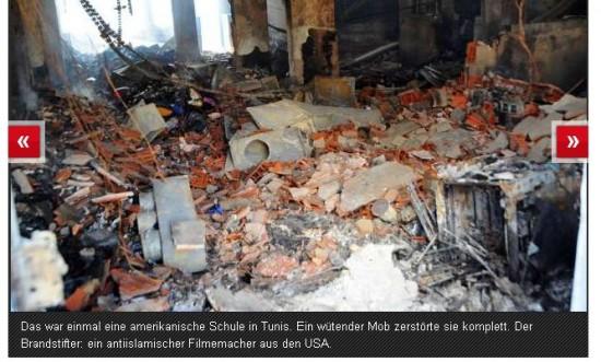 Islammob zerstört Schule