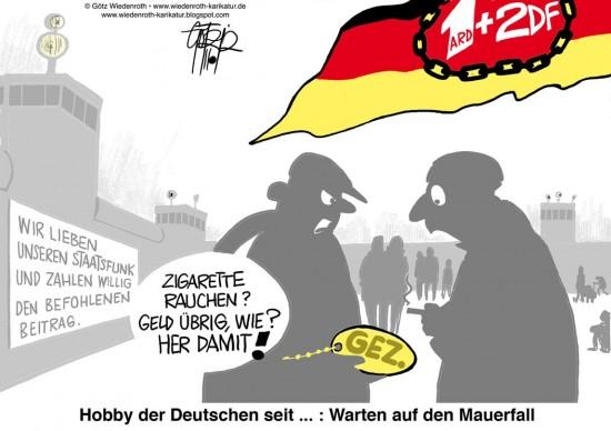 ARD ZDF GEZ DDR